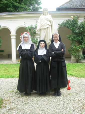 Sister chantal is a really devout nun she could worship the penis for now whole - 5 3